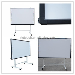 infrared smart whiteboard, interactive digital smart on hot sale electronic whiteboard with best price from China factory