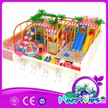 China producted 3-15 years old happy kids indoor playground equipment