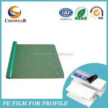 pallet transparent extended paper core film