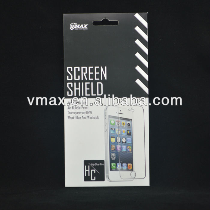 10 Years Supply HD Clear Matte anti-radiation waterproof Cell Phone lcd display mobile screen protector for iPhone 5 5c 5s