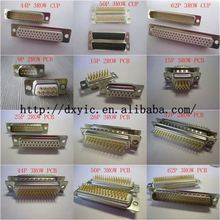 D-sub Connector D-SUB R/A MTL BKT 4-40 POST DB25S1A8NA191A197