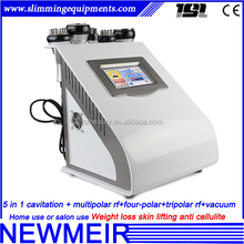 5in1 multipolar tripolar rf lifting cavitation vacuum on promotion ultrasonic cavitation