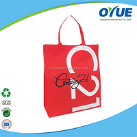 Factory Various Pattern available Multi-colors printable reusable shopping bags
