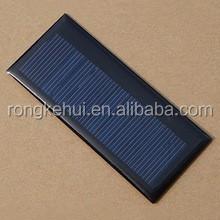 Hot Sales 86*38*3mm 5.5V 55mA Mini Polysilicon Solar Panel 0.3W