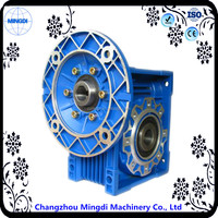 NMRV Series Aluminium Alloy Worm Variable Speed Reducer Gear box with Electric Motors for concrete mixer truck
