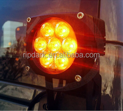 Ripdark patented product CNC made high-end amber led light for motorcycle