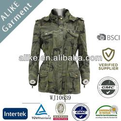 ALIKE woman camo jacket