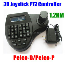 3D Joystick 1.2Km LCD Display Keyboard Controller for CCTV PTZ Speed Dome Camera IR Remote Pelco-P/Pelco-D RS-485/RS-232