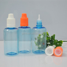 pharmaceutical package factory PET cobalt blue plastic bottle/glassware factory/plastic bottle 30ml 50ml pet bottle