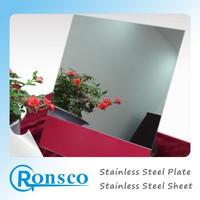 No. 8 Super Mirror Finish Stainless Steel Sheet/Mirror Polish Stainless Steel Sheet