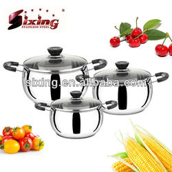 Well Sale In Africa Stainless Steel Cookware Set/Cooking Pot Set