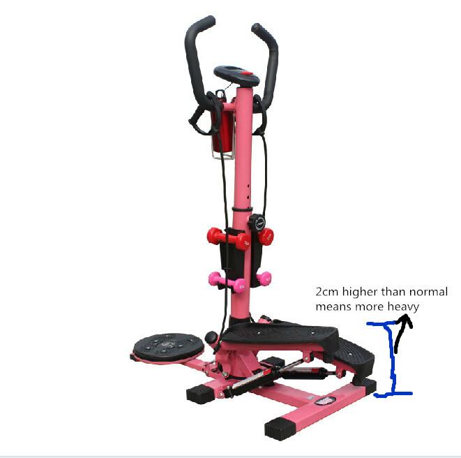 Home Exercise Equipment Stepper: Cardio Twister Stepper Home Gym Equipment Air Fitness