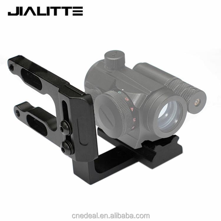 Jialitte RL Tiro Con Arco Mini Monte Vista Reflex Red Dot Laser Sight fit Soporte Mathews Arco Bowtech Oso todos Compund J003