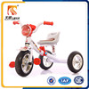 New coming music and light kids plastic tricycle kids metal tricycle for sale