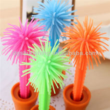 cute funny tree Silicone finger ballpoint pen