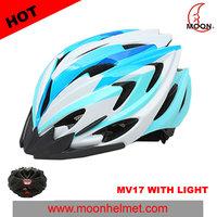 MV17 China Bicycle Accessories Mini Helmet Mirror Visor Helmet with LED light