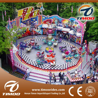 32 seats CE approved outdoor playground crazy dance amusement park rides for sale