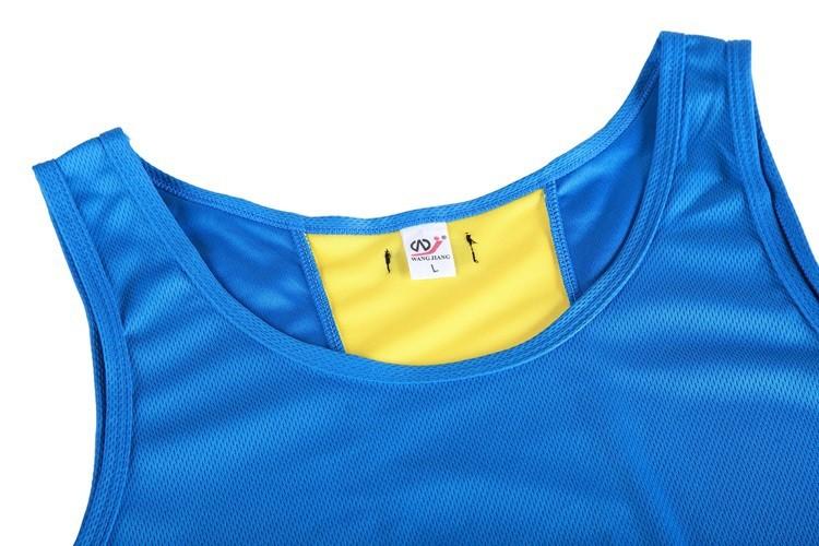 Мужские майки/Мужские спортивные рубашки/мужчины шорты 100% полиэфирных легко попробовать 5 цветов bz2005