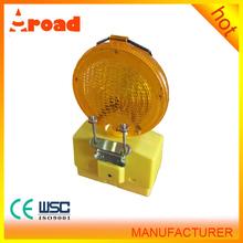 good quality yellow flashing light battery power