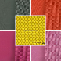 100% polyester 3D air spacer breathable sandwich mesh fabric good for car seat cover / shoes / bags