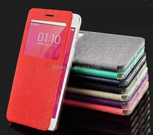 New arrival luxury Carbon Fiber leather flip phone case for Samsung G530 and for iphone