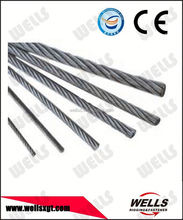 Industrial usage galvanised cable wire 7x7