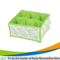 2015 made in china Household items non woven fabric storage box colorful foldable storage box