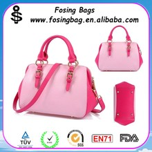 Wholesale woman genuine leather handbag in Hangbags to export