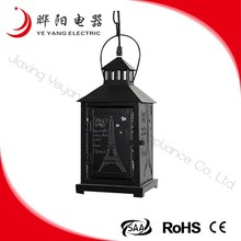 Decorative Black Metal Vintage Chandeliers 220-240V Max40W