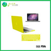 Colorful silicone laptop keyboard cover, laptop surface protective cover for Macbook Air and Macbook Pro