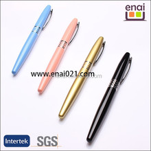 2015 elegant polygon metal gift fountain pen