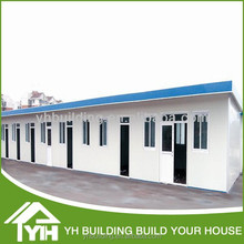 Construction light steel prefabricated T house with beautiful appearance