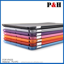 Ultra slim stand Smart Magnetic Leather Case Cover for IPAD AIR IPAD 5 sleep wake