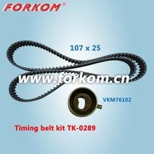 TK-0289 Rubber Belt Bearing Tensioner Renault Timing Belt Kit for Chevrolet Matiz