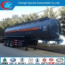 Capacity fuel tank truck high quality fuel semi-trailer Carbon steel 3axles oil tank ton