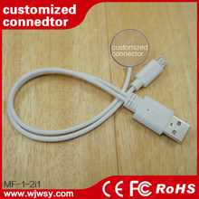 Print Your Logo Customized Connector Heads 2 in 1 USB Cable Comprehensive Compact Functions Universal USB Device Charger Cable
