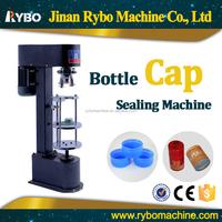 manual plastic water bottle cap sealing machine
