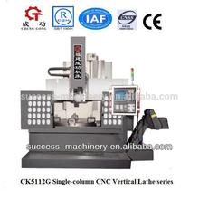 china ck5112g vertical cnc torno torneado para la venta