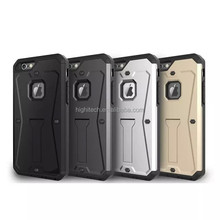 Hybrid Heavy Defender Tank Armor Hard Shield Outdoor Stand Case For iPhone 6