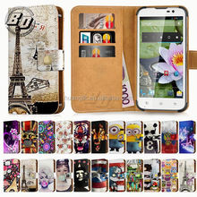 Fashion flip leather universal cover for nokia lumia 630 cases
