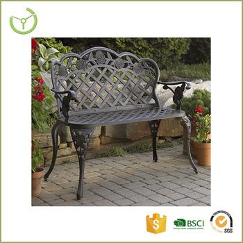 New Product China Supplier Garden Benches Cheap Sofa Metal Antique Cast Iron Garden Bench Chair