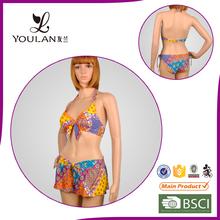 New Design Perfect Printed Polyester hot sexy women nude kids micro bikini 2014