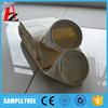 Needle punched nonwoven aramid cement dust collector bag