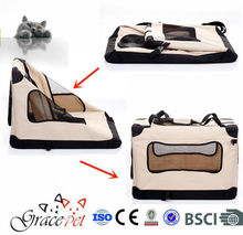 [Grace Pet] Hot Selling Portable fabric Dog Carrier Dog Cage Dog Product