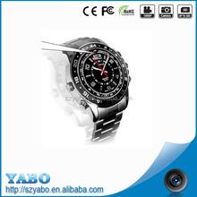 4G/8G Spy Camera Watch Video DVR Digital Audio Video Recorder Waterproof Cam