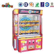 2014 de la alta calidad de arcade de la máquina expendedora WA-QF092 captura de peluche de juguete juego