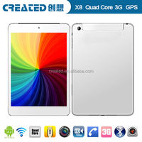 7.85 inch quad core mtk8389 IPS screen android tablet bluetooth software