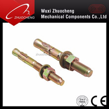 Carbon Steel Galvanized M16 Anchores Expansion Bolt With ISO CE Cetificates