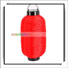 Garden Solar Powered Red Lantern Light