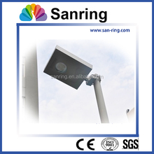 pure white wonderful design 40w all in one solar led street light